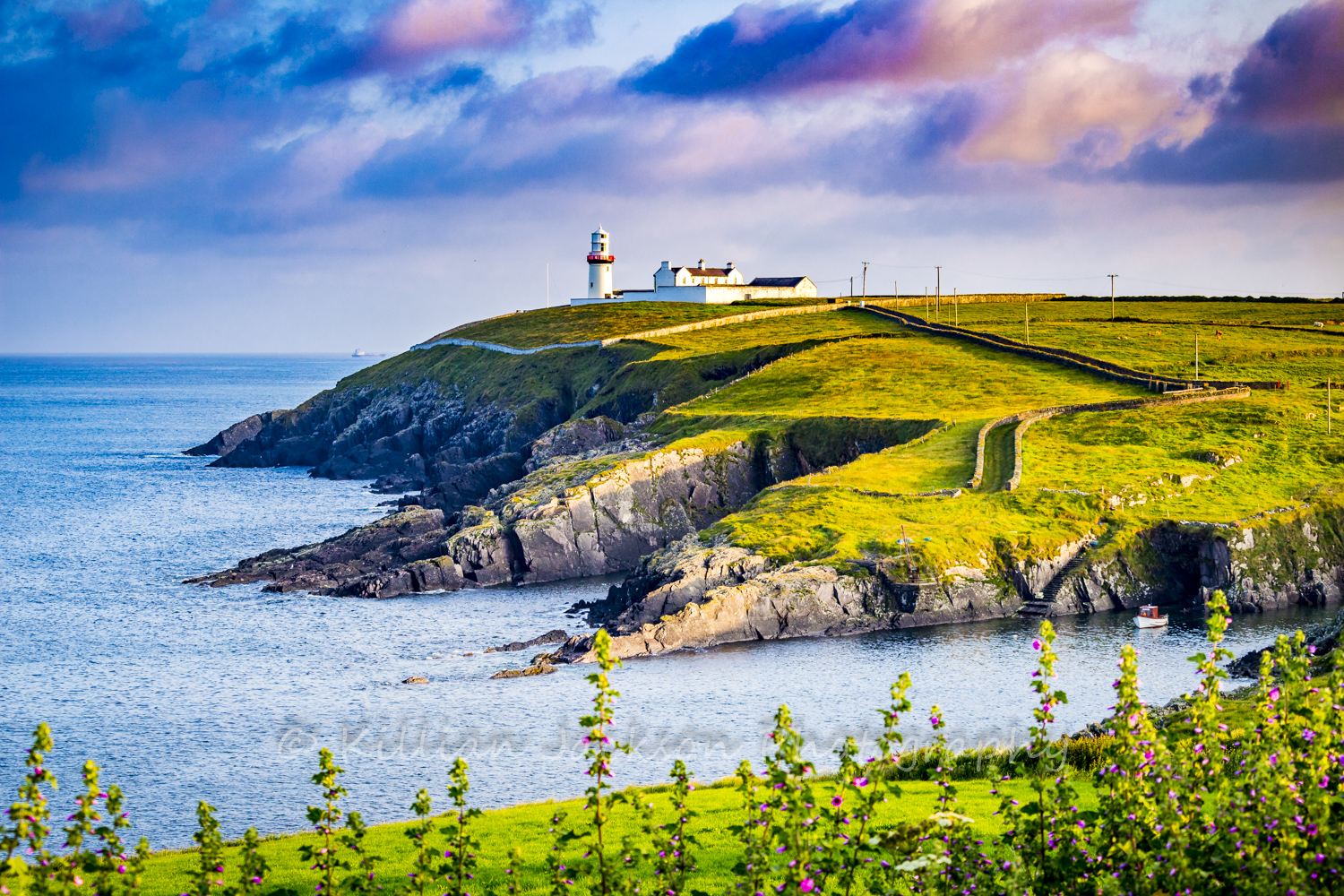 Galley Head, Cork, West Cork, Rosscarbery, Ireland, Wild Atlantic Way, Lighthouse,
