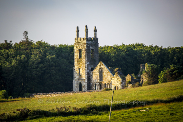 rathbarry, church, ruins, castlefreke, west, cork, ireland, wild, atlantic, way