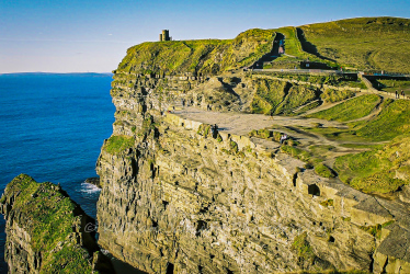 cliff, moher, west, clare, ireland, wild atlantic way
