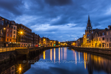 georges, quay, river lee, cork, ireland