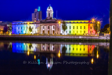 cork, city, city hall, river lee, pride